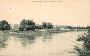 AK / Ansichtskarte Chatou Vue prise de l Ile Chatou