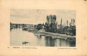 AK / Ansichtskarte Chatou Les Bords de la Seine Chatou