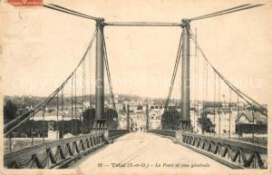 AK / Ansichtskarte Triel sur Seine Le Pont et vue generale Triel sur Seine