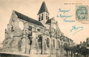 AK / Ansichtskarte Triel sur Seine Eglise de Triel Triel sur Seine