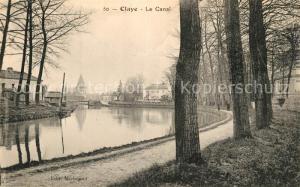 AK / Ansichtskarte Claye Souilly Le Canal Claye Souilly