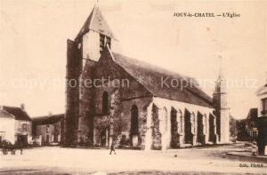 AK / Ansichtskarte Jouy le Chatel Eglise Jouy le Chatel