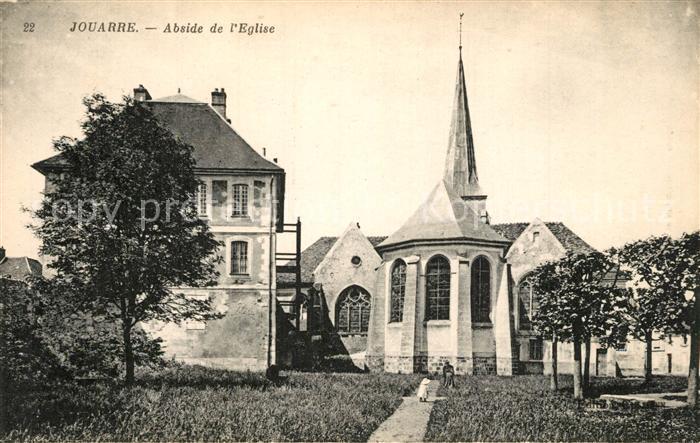 AK / Ansichtskarte Jouarre Abside de l Eglise Jouarre 0
