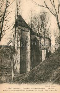 AK / Ansichtskarte Lucheux Le Chateau l'Ancienne Chapelle Ruines  Lucheux