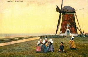 AK / Ansichtskarte Marken Windmuehle Trachten Photochromie Serie 163 Nr 2934 Marken