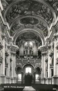 AK / Ansichtskarte Kirchenorgel Stift St. Florian Bruckner Orgel