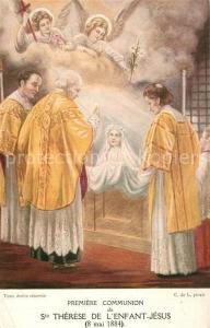 AK / Ansichtskarte Religion Premiere Communion de Ste Therese de l Enfant Jesus 1884