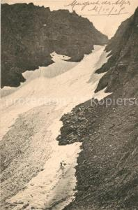 AK / Ansichtskarte Gletscher