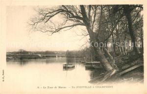 AK / Ansichtskarte Champigny sur Marne Joinville  Champigny sur Marne
