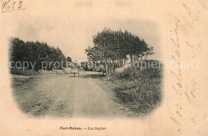 AK / Ansichtskarte Fort Mahon Plage Les Sapins Fort Mahon Plage