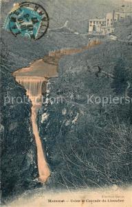 AK / Ansichtskarte Mazamet Usine et Cascade du Linoubre Mazamet