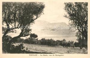 AK / Ansichtskarte Toulon_Var La Rade vue de Balaguier Toulon_Var