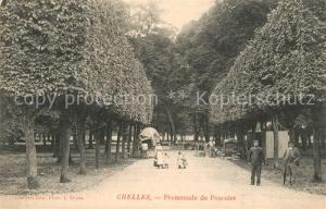 AK / Ansichtskarte Chelles_Seine et Marne Promenade du Poncelet Chelles_Seine et Marne