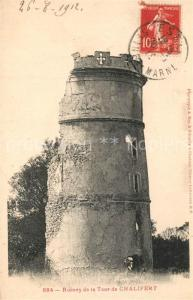 AK / Ansichtskarte Chalifert Ruines de la Tour de Chalifert Chalifert