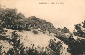 AK / Ansichtskarte Larchant Rocher de la Justice Larchant