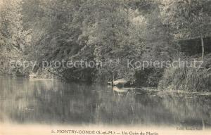 AK / Ansichtskarte Montry Conde Un Coin du Morin