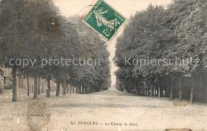 AK / Ansichtskarte Nemours_Seine et Marne Le Champ de Mars Nemours Seine et Marne
