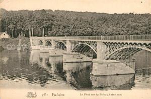 AK / Ansichtskarte Valvins Le Pont sur la Seine Autre vue