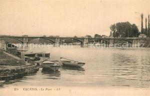 AK / Ansichtskarte Valvins Le Pont