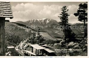 AK / Ansichtskarte Kleine_Kanzel Berghuette Blick zur Hohe Wand Alpen Kleine_Kanzel