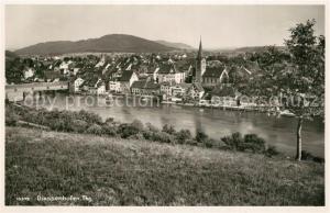 AK / Ansichtskarte Diessenhofen Panorama Blick ueber den Rhein zur Stadt Diessenhofen