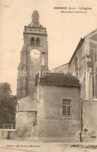 AK / Ansichtskarte Arbois Eglise Arbois
