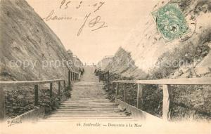 AK / Ansichtskarte Sotteville Descente a la Mer Sotteville
