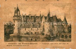 AK / Ansichtskarte Bourre Chateau de Plessis Bourre Bourre