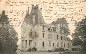 AK / Ansichtskarte Brain sur Allonnes Chateau de la Coutanciere Brain sur Allonnes