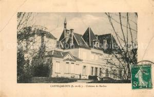 AK / Ansichtskarte Casteljaloux Chateau de Bachac Casteljaloux