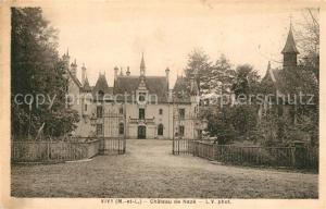 AK / Ansichtskarte Vivy_Maine et Loire Chateau de Naze  Vivy Maine et Loire