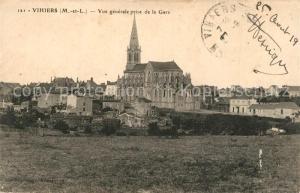 AK / Ansichtskarte Vihiers Vue generle prise de la Gare Vihiers