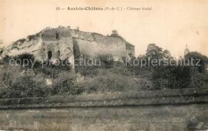 AK / Ansichtskarte Auxi le Chateau Chateau feodal Auxi le Chateau