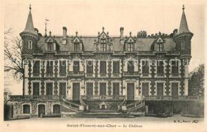 AK / Ansichtskarte Saint Florent sur Cher Le Chateau Saint Florent sur Cher