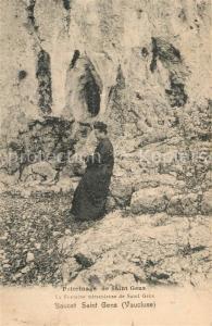 AK / Ansichtskarte Baucet_Saint_Gens La Fontaine miraculeuse de Saint Gens