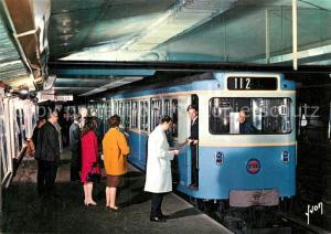 AK / Ansichtskarte U Bahn_Subway_Underground_Metro Paris  U Bahn_Subway