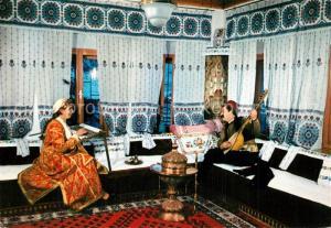 AK / Ansichtskarte Trachten_Bosnien_Herzegowina Sarajevo Gradska muslimanska nosnja