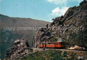 AK / Ansichtskarte Eisenbahn La Rhune La Breche  Eisenbahn