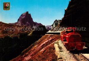 AK / Ansichtskarte Eisenbahn Pic du Midi d ossau Artouste Eisenbahn