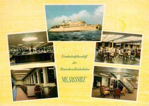 AK / Ansichtskarte Schiffe_Ships_Navires MS Sassnitz