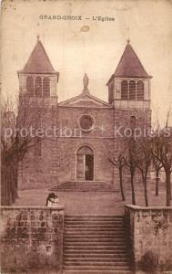 AK / Ansichtskarte La_Grand Croix Eglise Kirche La_Grand Croix