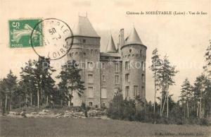 AK / Ansichtskarte Noiretable Chateau Schloss Noiretable