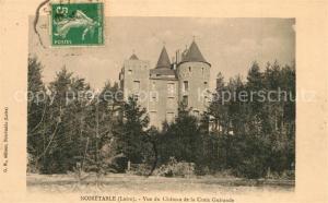 AK / Ansichtskarte Noiretable Vue du Chateau de la Croix Guirande Noiretable