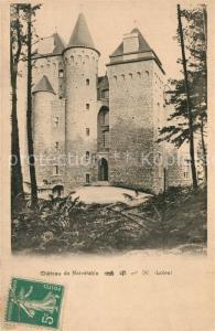 AK / Ansichtskarte Noiretable Chateau de la Croix Guirande Noiretable