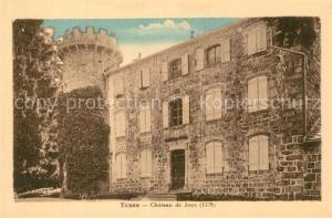 AK / Ansichtskarte Tence Chateau de Joux Tence