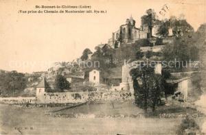 AK / Ansichtskarte Saint Bonnet le Chateau Vue prise du Chemin de Montorsier Saint Bonnet le Chateau