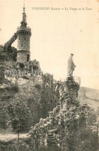 AK / Ansichtskarte Valfleury La Vierge et la Tour Valfleury