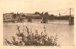 AK / Ansichtskarte Ancenis Vue generale au bord de la Loire Ancenis