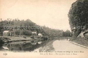 AK / Ansichtskarte Livet_Cote_d_Emeraude Chemin de hallage de Livet a Dinan Bords de la Rance