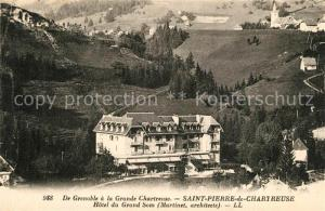 AK / Ansichtskarte Saint Pierre de Chartreuse Hotel du Grand Som Saint Pierre de Chartreuse